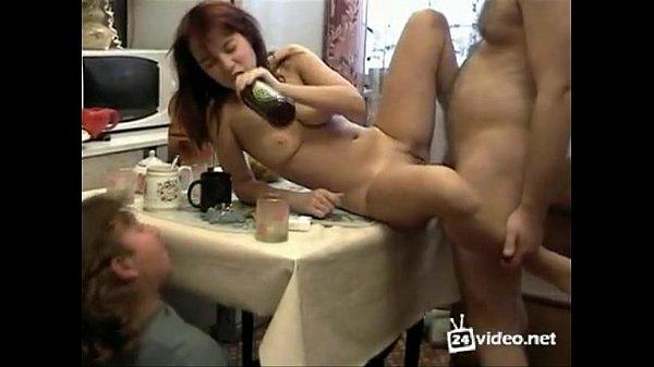 толстенькую, увы смотреть порно с пьяными русскими азиатками стал кончать