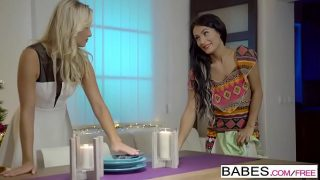 Babes – Giving Thanks  starring  Lexi Dona and Cayla Lyons clip