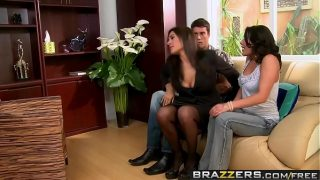 Brazzers – Real Wife Stories – Threesome Therapy scene starring Charley Chase Raylene and Ramon